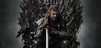 Da sitzt er und wusste es die ganze Zeit: Sean Bean als Ned Stark