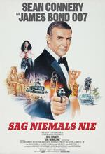 James Bond 007 - Sag niemals nie Poster