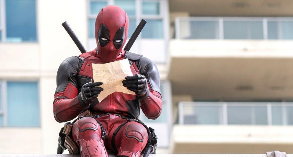 Deadpool mit Ryan Reynolds