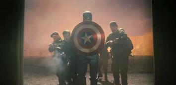 Bild zu:  Chris Evans zieht als Captain America in den Kampf