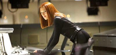 Scarlett Johansson in Captain America 2