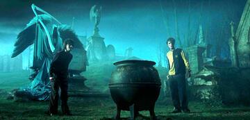Harry Potter und Cedric Diggory auf dem Friedhof ... ohne Zeugen