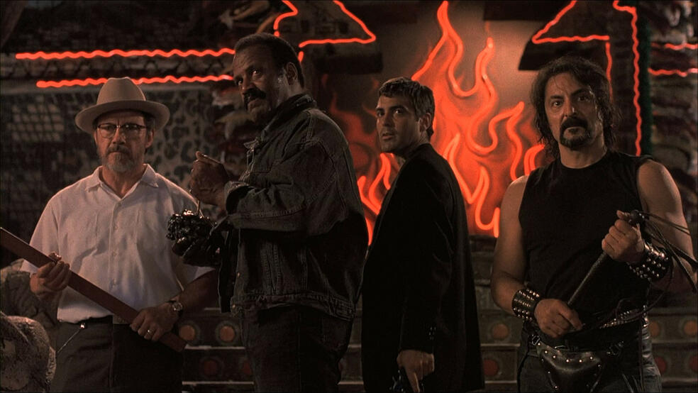 From Dusk Till Dawn mit George Clooney, Harvey Keitel, Tom Savini und Fred Williamson
