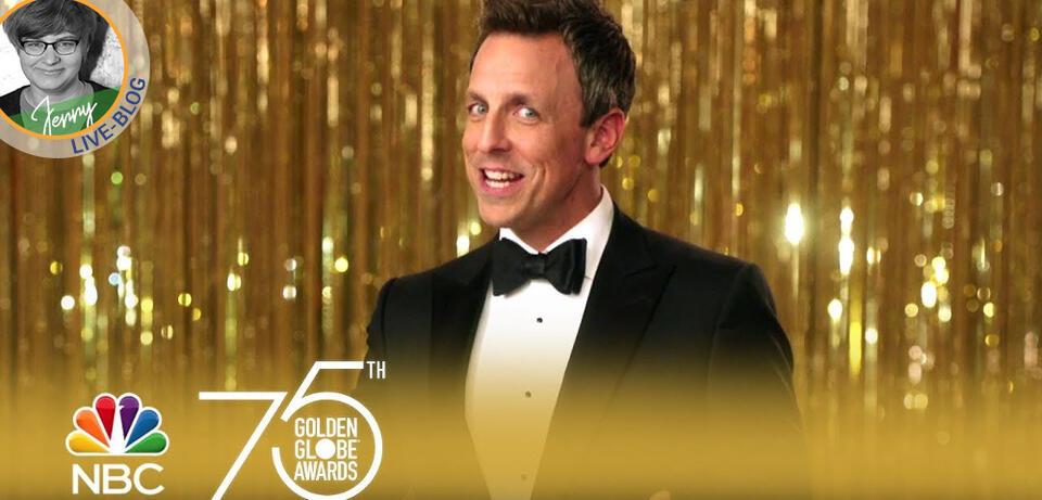Die Golden Globes 2018 werden von Seth Meyers moderiert