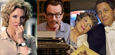 Kino nach wahren Geschichten: Cate Blanchett in Der Moment der Wahrheit, Bryan Cranston in Trumbo, Meryl Streep & Hugh Grant inFlorence Foster Jenkins