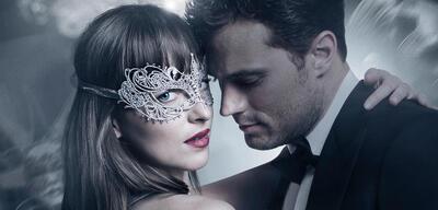 Dakota Johnson und Jamie Dornan in Fifty Shades of Grey - Gefährliche Liebe