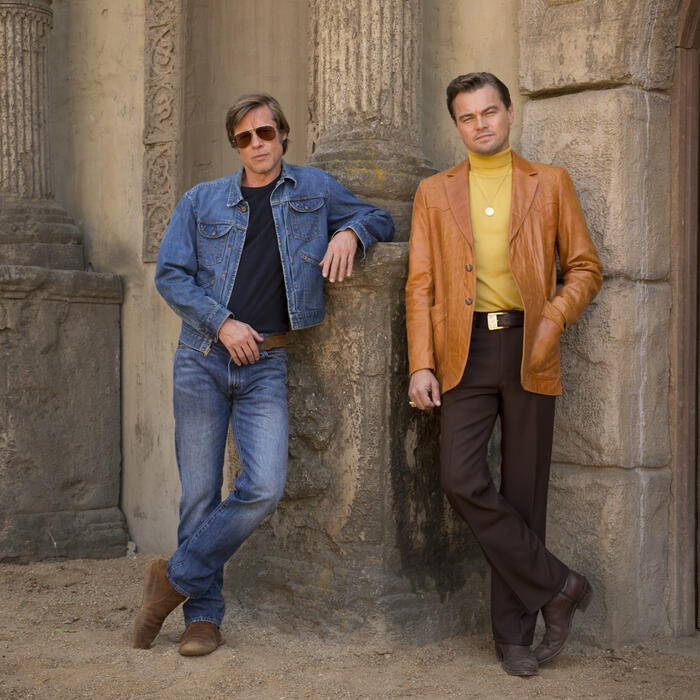 Once Upon a Time... in Hollywood mit Leonardo DiCaprio und Brad Pitt