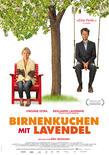 Birnenkuchen mit lavendel+ +poster