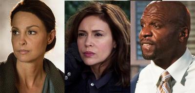 Schauspieler Ashley Judd, Alyssa Milano und Terry Crews wurden alle als Schweigensbrecher von Time geehrt.