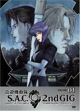 Ghost in the Shell: Stand Alone Complex - Staffel 2 - Poster