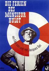 Die Ferien des Monsieur Hulot - Poster