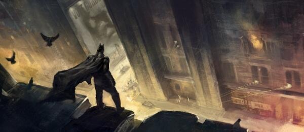 Batman: Arkham City Concept Art