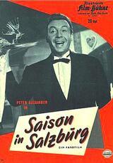 Saison in Salzburg - Poster