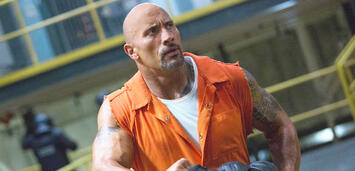 Bild zu:  Dwayne Johnson in Fast & Furious 8