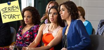 Judy Reyes, Roselyn Sánchez und Ana Ortiz in Devious Maids