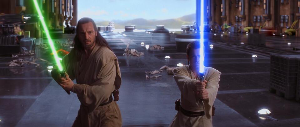 Star Wars: Episode I - Die dunkle Bedrohung mit Liam Neeson und Ewan McGregor