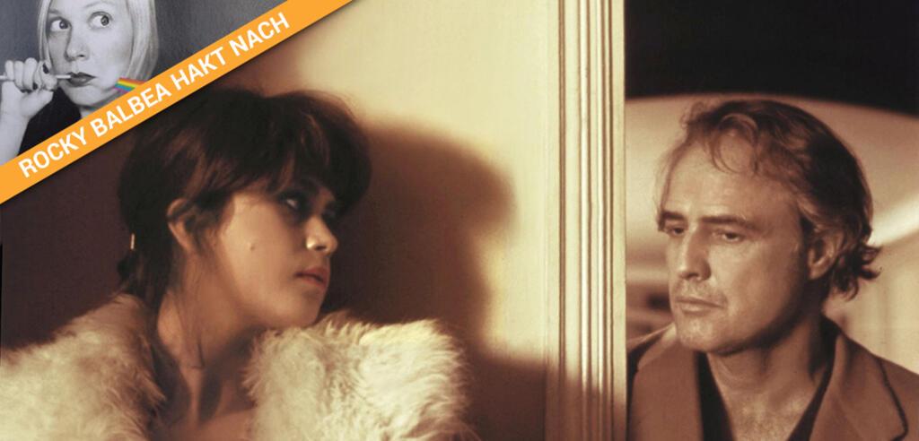 Maria Schneider und Marlon Brando in Der letzte Tango in Paris