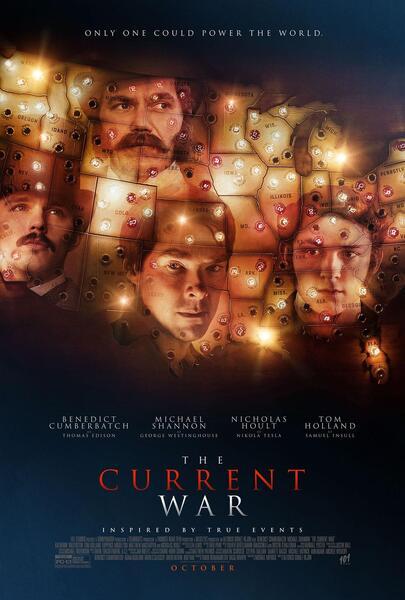 The Current War mit Benedict Cumberbatch, Michael Shannon, Nicholas Hoult und Tom Holland