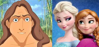 Tarzan & Elsa und Anna - Geschwister?!