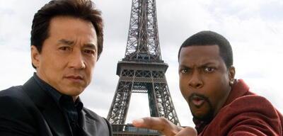 Die Rush Hour-Mimen Jackie Chan und Chris Tucker