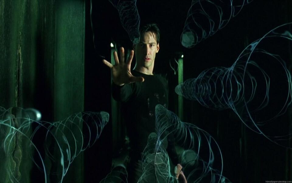 Matrix mit Keanu Reeves