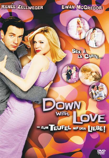 Down with Love - Zum Teufel mit der Liebe mit Ewan McGregor und Renée Zellweger