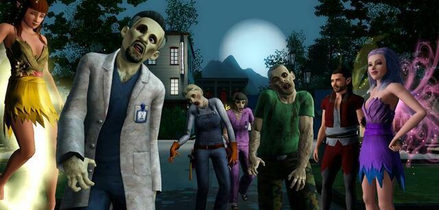 Supernatural-DLC für Die Sims 3