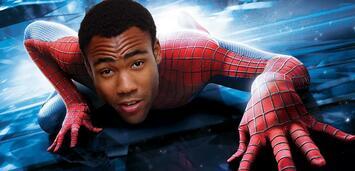 Bild zu:  Ein schwarzer Spiderman?