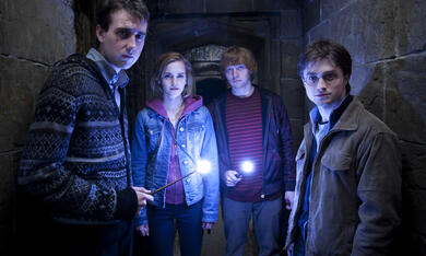 Harry Potter und die Heiligtümer des Todes 2 mit Emma Watson, Daniel Radcliffe, Rupert Grint und Matthew Lewis - Bild 2
