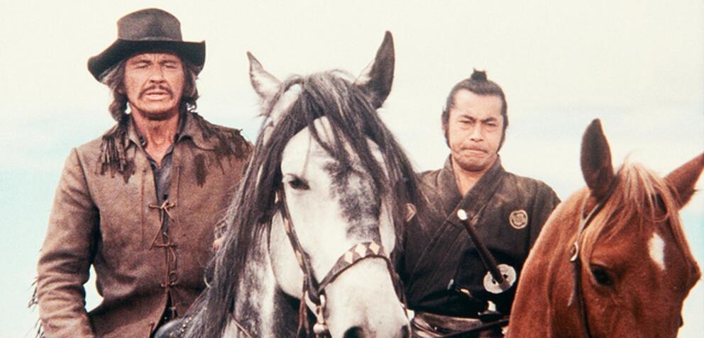 Rivalen unter roter Sonne - Charles Bronson, Toshirô Mifune