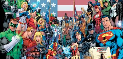 Bald auch in Deutschland anzutreffen: DCs Helden
