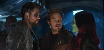 Schon in Avengers 3: Infinity War eine Spaßtruppe: Thor und die Guardians