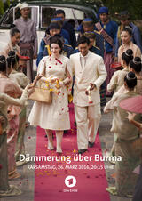 Dämmerung über Burma - Poster