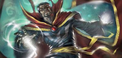 Wer bildet Doctor Strange aus?