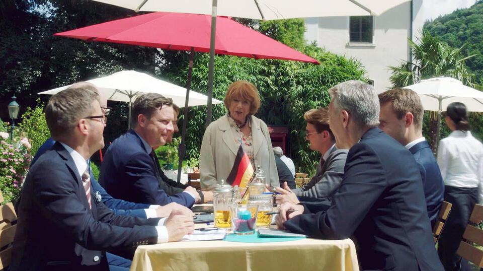 Hotel Heidelberg: ... Vater sein dagegen sehr mit Hannelore Hoger