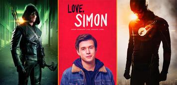 Bild zu:  Arrow/Love, Simon/The Flash
