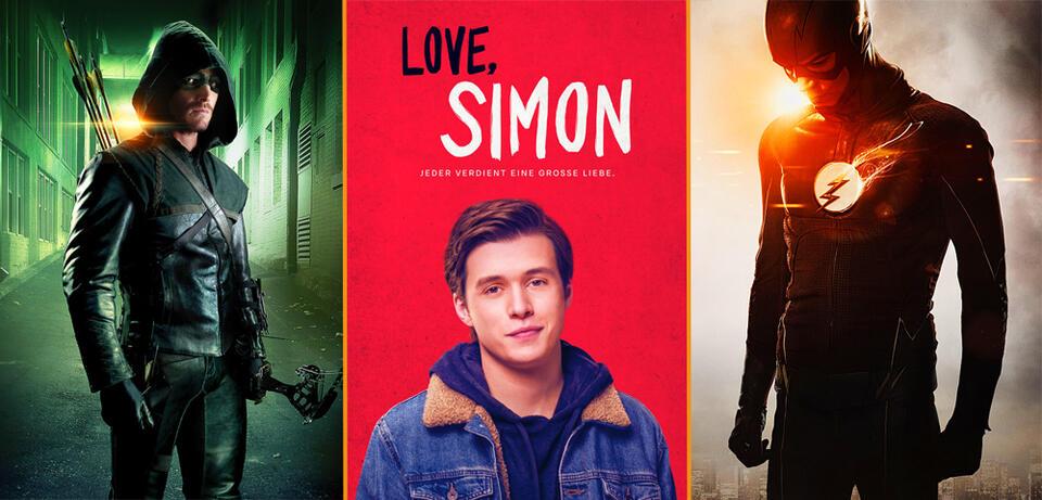 Arrow/Love, Simon/The Flash