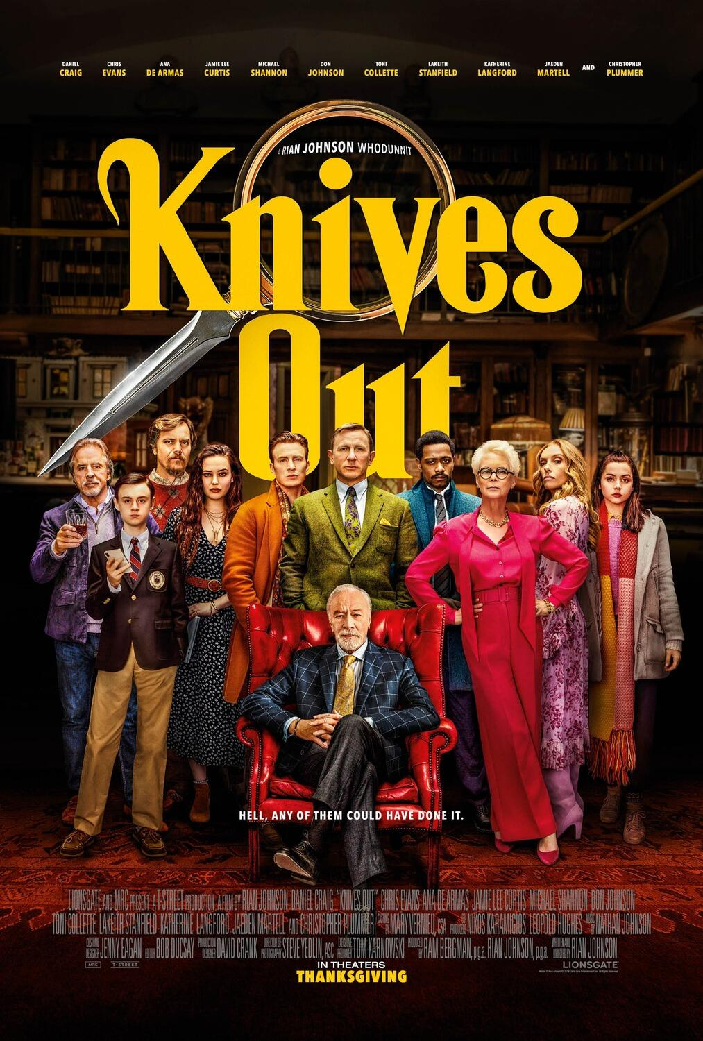 Knives Out Besetzung
