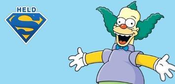 Bild zu:  Krusty der Clown ist mein Serienheld