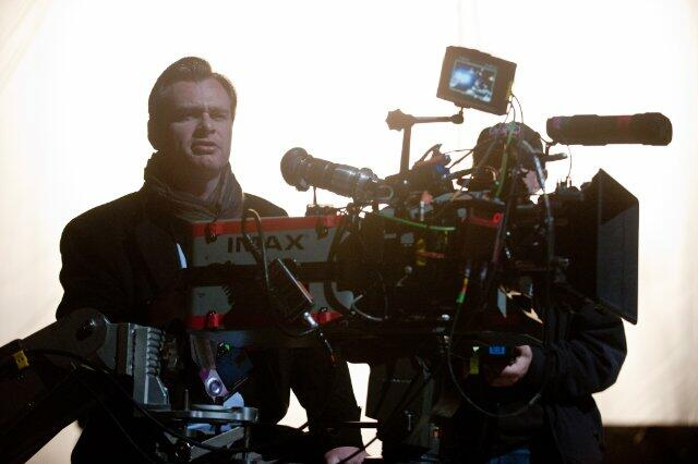 The Dark Knight Rises mit Christopher Nolan