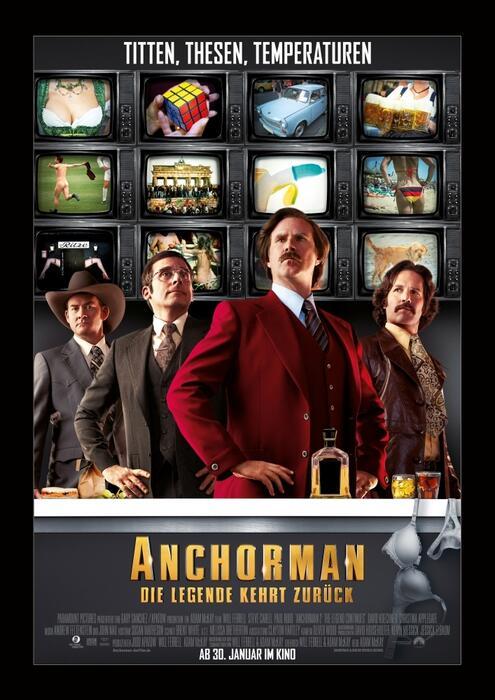 Anchorman 2 - Poster
