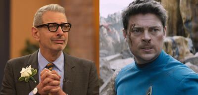 Jeff Goldblum & Karl Urban