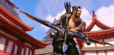 Der Overwatch-Held Hanzo