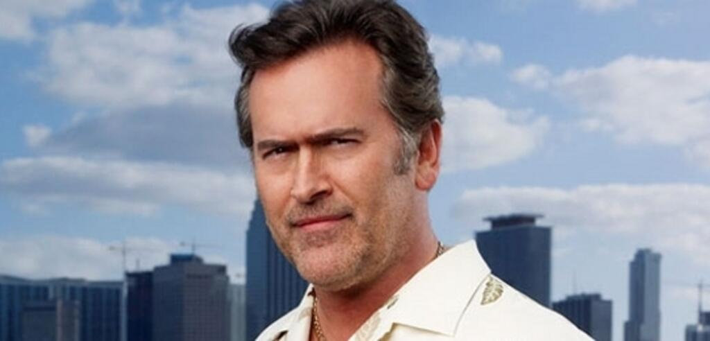 Bruce Campbell in Burn Notice