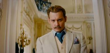 Bild zu:  Johnny Depp als Kunsträuber in Mortdecai