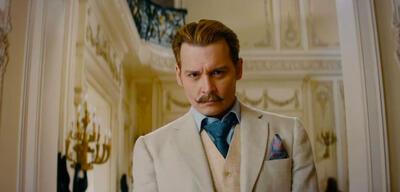 Johnny Depp als Kunsträuber in Mortdecai