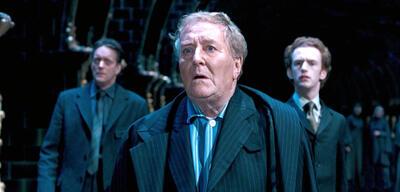 Robert Hardy als Cornelius Fudge in Harry Potter und der Orden des Phönix