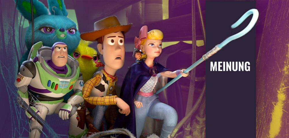 Furchtlos: Toy Story 4 schreckt vor großen Menschheitsfragen nicht zurück