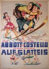 Abbott und Costello auf Glatteis - Poster