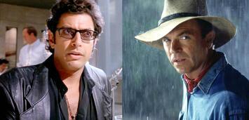 Bild zu:  Jeff Goldblum und Sam Neill in Jurassic Park